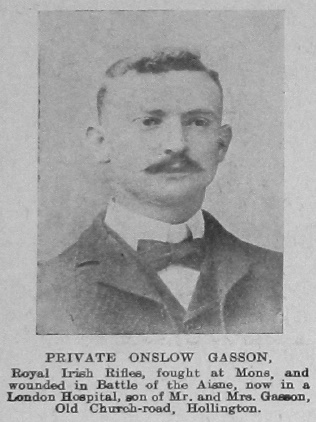 Gasson, Onslow
