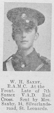 Saxby, William H