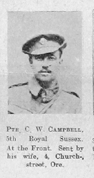 C W Campbell