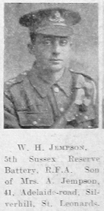 Jempson, William Henry