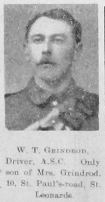 W T Grindrod