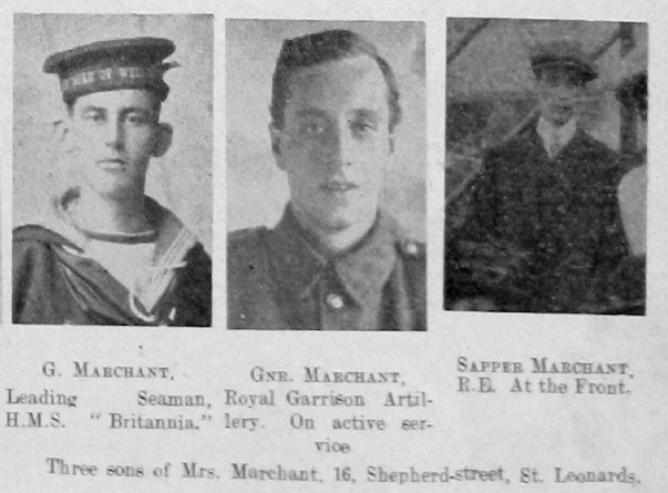 Marchant, Unknown First Name