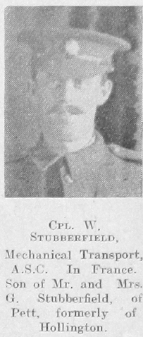 Stubberfield, William G