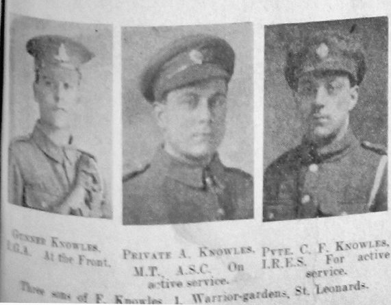 Knowles, Unknown First Name