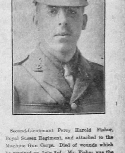 Fisher, Percy Harold