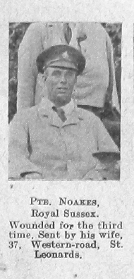 Noakes, Unknown First Name