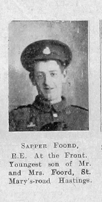 Foord, Unknown First Name