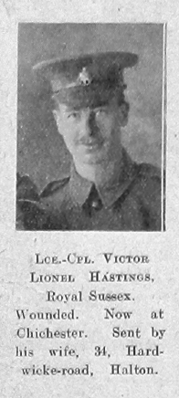 Hastings, Victor Lionel
