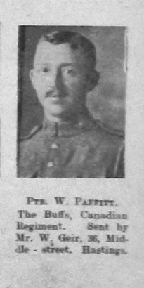 Paffitt, William Charles Walter