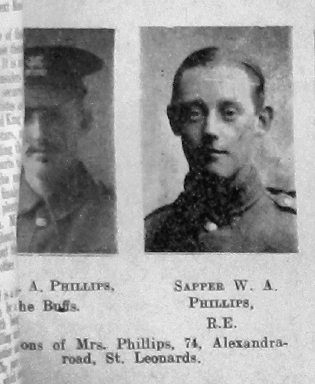 Phillips, W A