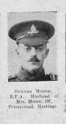 Moore, Unknown First Name
